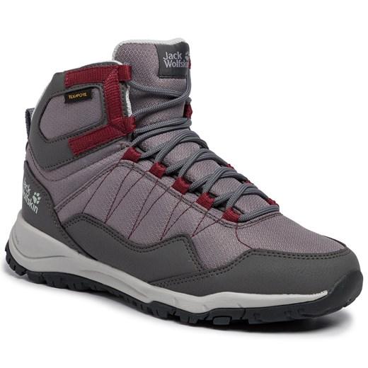 Buty trekkingowe damskie Jack Wolfskin sportowe bez wzorów