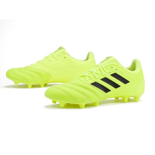 Zielone buty sportowe m?skie Adidas copa ze skry