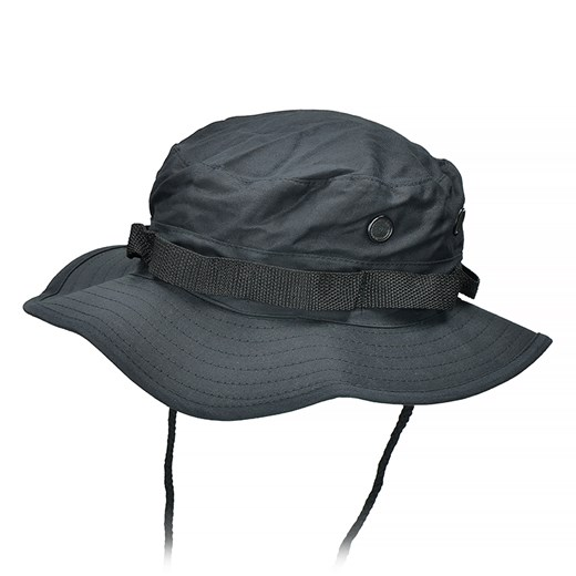 Mil-Tec Kapelusz Jungle Hat Czarny Mil-Tec  XXL milworld.pl
