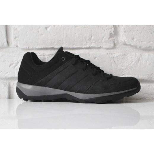Buty sportowe męskie Adidas czarne wiązane w Domodi