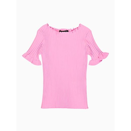 Sweter damski Gate Odzież Damska MO różowy ZEQP