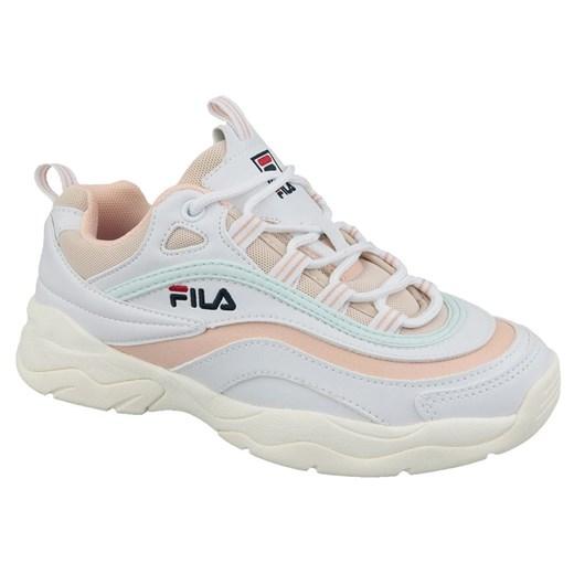 Buty sportowe damskie Fila sneakersy młodzieżowe ze skóry