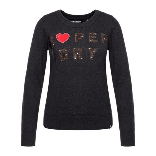 Czarny sweter damski Superdry Odzież Damska AE czarny ULJH