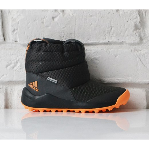 Buty zimowe dziecięce Adidas na zimę w abstrakcyjnym wzorze
