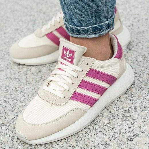 Adidas buty sportowe damskie dla biegaczy sznurowane