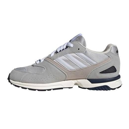 Buty sportowe damskie Adidas do biegania zx szare zamszowe