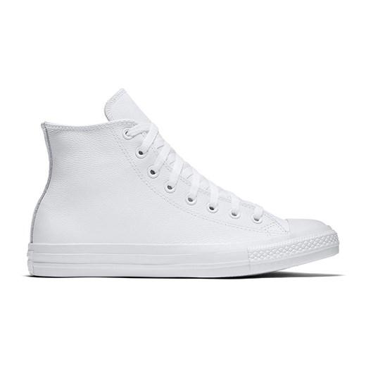 Trampki męskie białe Converse all star sportowe skórzane