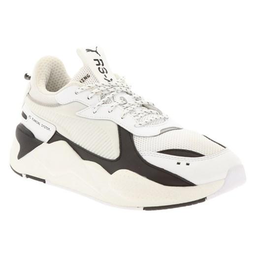 Buty sportowe męskie Puma białe sznurowane w Domodi