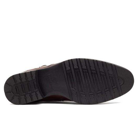 Buty zimowe męskie Brilu z klamrą z tworzywa sztucznego w Domodi