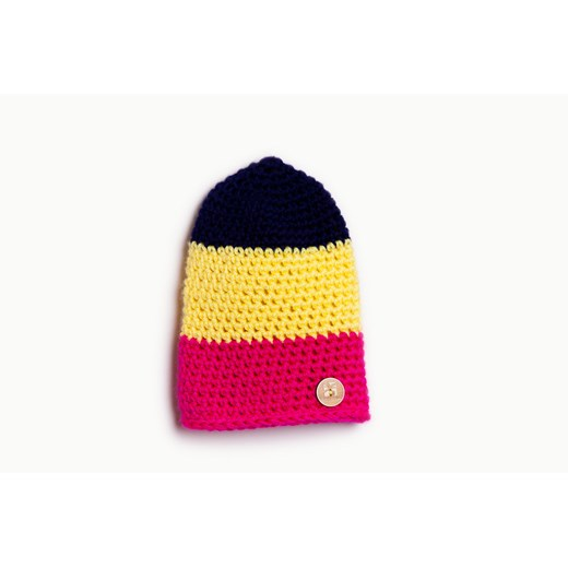 Woolly Hat Stripes Banana Kids  40