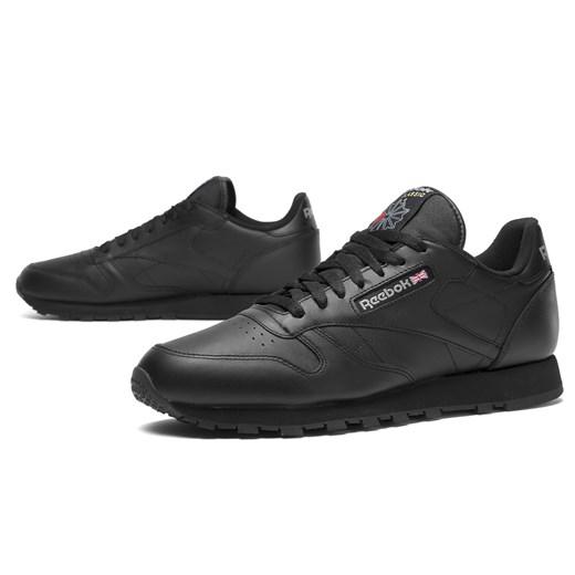 Buty sportowe damskie Reebok czarne bez wzorów płaskie w Domodi