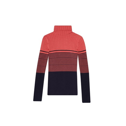 Sweter damski w paski Odzież Damska QX wielokolorowy HEDD