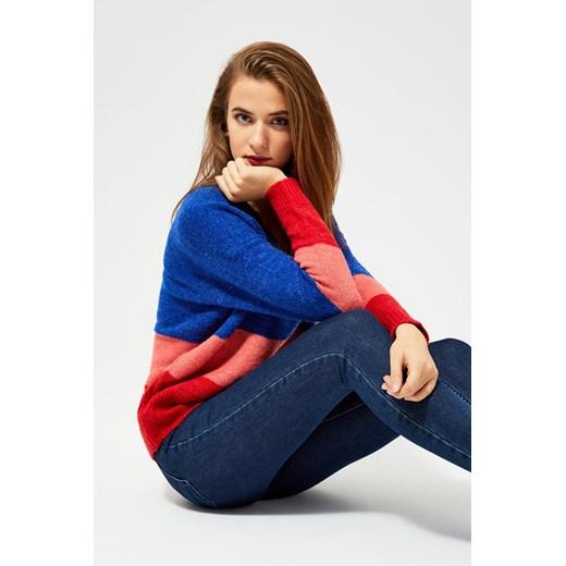 Sweter damski Odzież Damska IO wielokolorowy QYUO