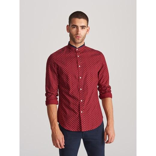 Koszula męska Reserved z długim rękawem z nadrukami w Domodi  3tgVc