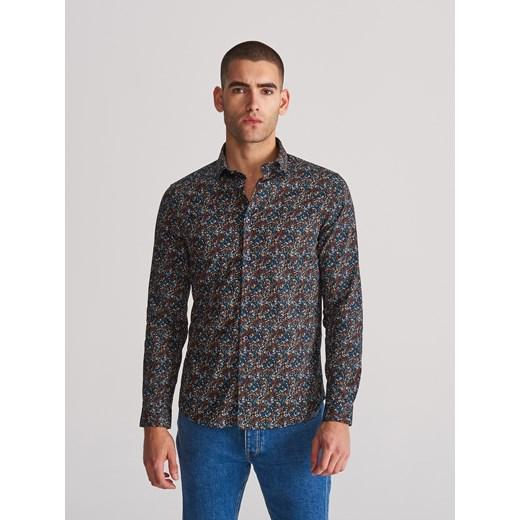 Koszula męska Reserved z długim rękawem w Domodi  1jFaY