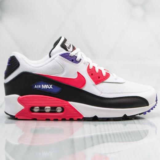 Buty sportowe męskie Nike air max 91 z tworzywa sztucznego w