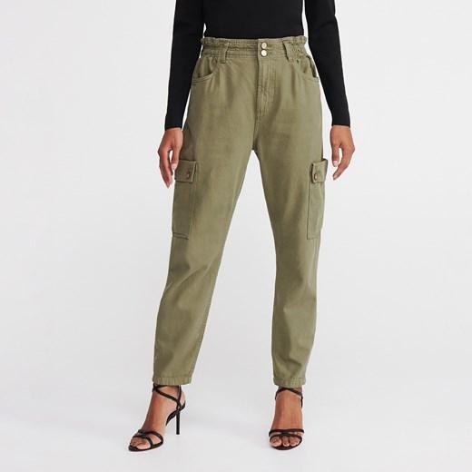 Spodnie damskie Reserved bawełniane w Domodi