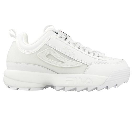 Buty sportowe damskie Fila do biegania wiązane bez wzorów na