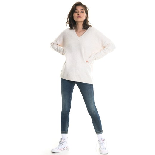 Biały sweter damski BIG STAR w Domodi