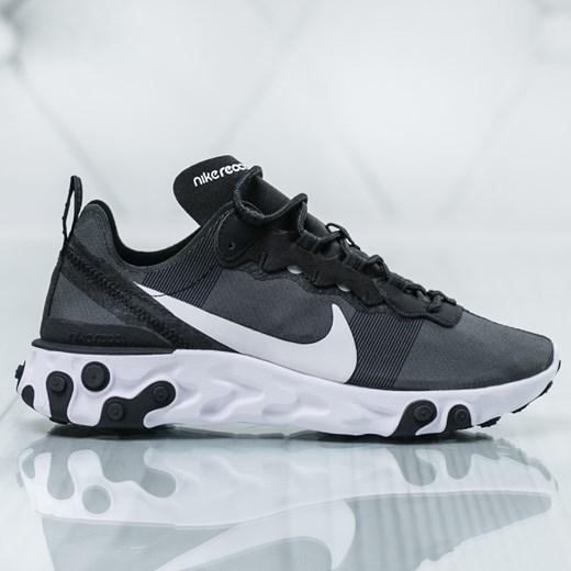 Buty sportowe damskie Nike sznurowane bez wzorów na płaskiej