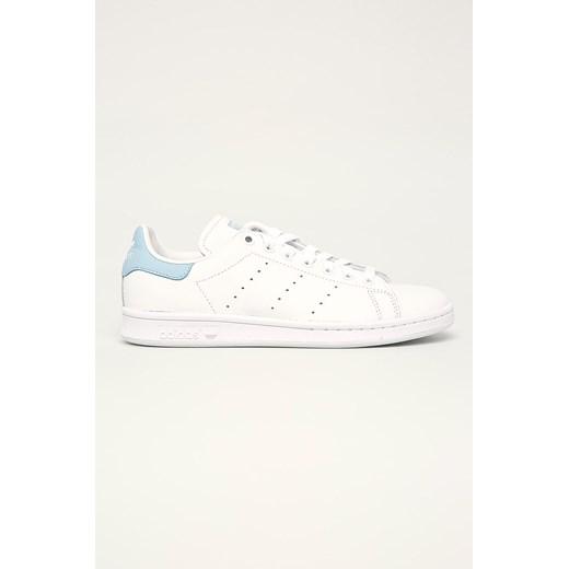 Buty sportowe damskie Adidas Originals na wiosnę bez wzorów