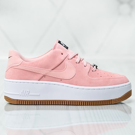 Buty sportowe damskie Nike na platformie młodzieżowe bez