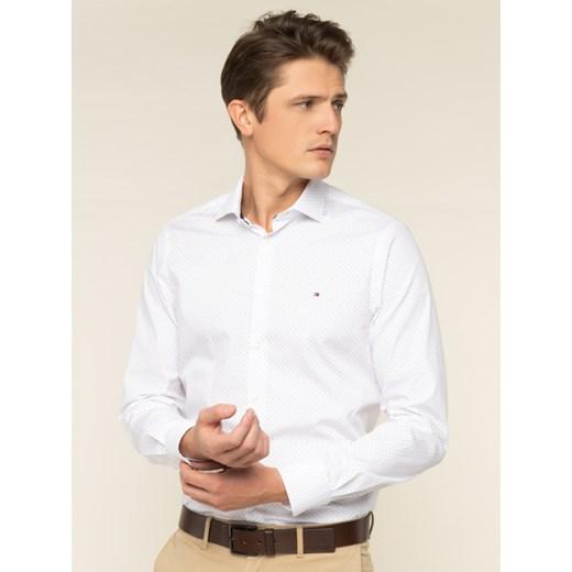 Koszula męska Tommy Hilfiger z długimi rękawami elegancka w