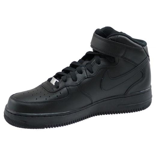 Buty Nike Air Force 1 Mid 07 M 315123 001 czarne   Buty nike
