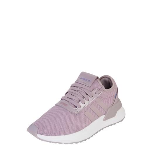 Buty sportowe damskie Adidas Originals młodzieżowe bez wzorów płaskie wiązane