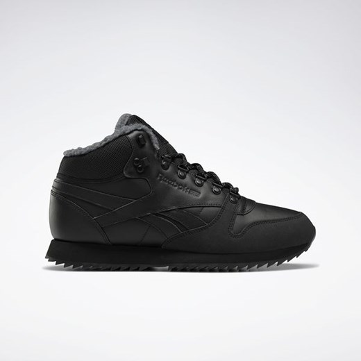 Buty Classic Leather Mid Ripple Reebok (black)  Reebok Fitness 44 SPORT-SHOP.pl