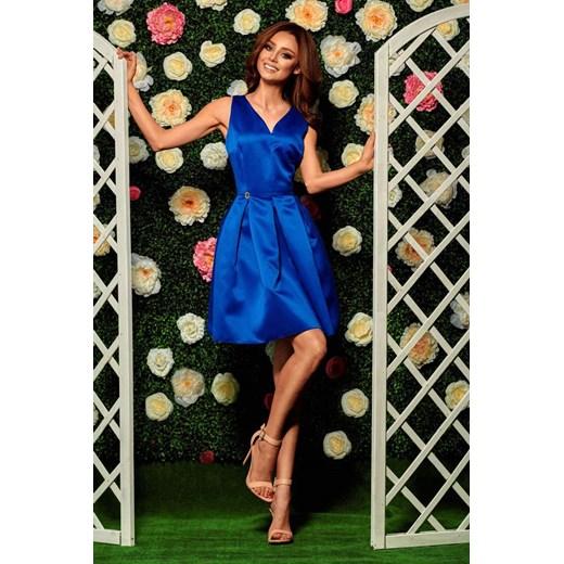 Sukienka Lemoniade - Lizz Odzież Damska WI niebieski DHGE