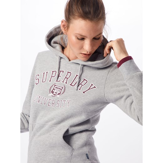 Bluzka sportowa 'SD UNIVERSITY ENTRY HOOD'  Superdry S AboutYou