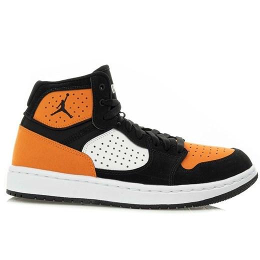 Buty sportowe męskie wielokolorowe Nike air jordan na wiosnę sznurowane