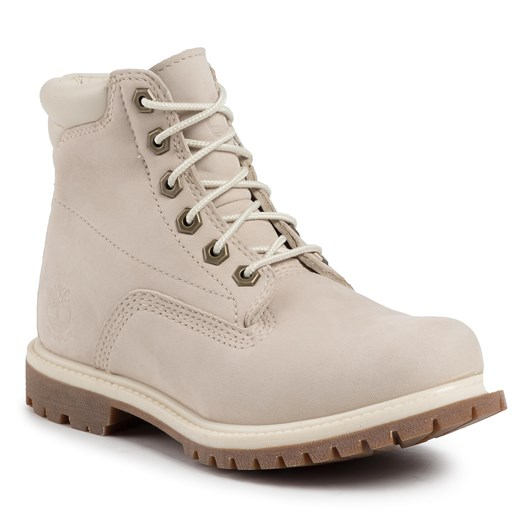Trapery TIMBERLAND - Waterville 6 In Waterproof Boot TB0A1HMC169 White Nubuck Timberland  36 eobuwie.pl