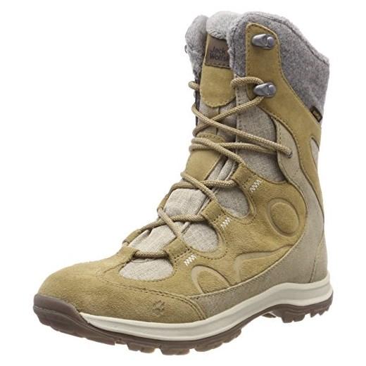 Jack Wolfskin damskie buty zimowe Thunder Bay Texapore High w, beżowy, 6 Amazon