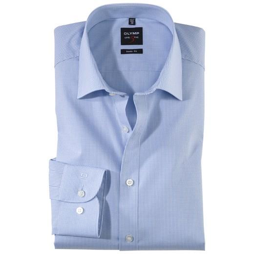 Koszula męska z tkaniny z długim rękawem w Domodi  Nm7st