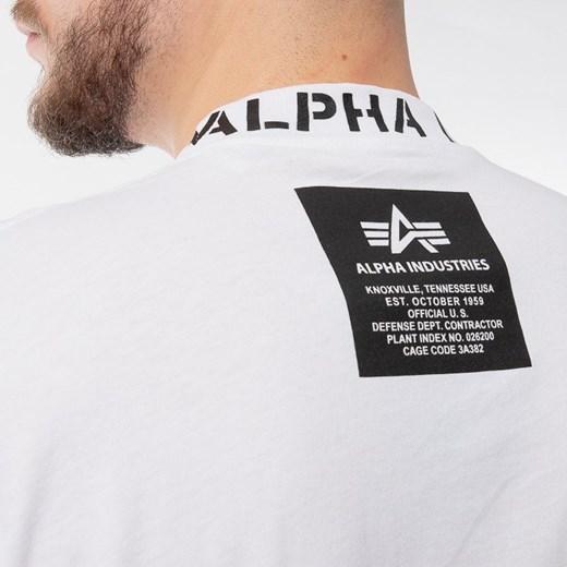Alpha Industries t-shirt męski z krótkimi rękawami mo3R9