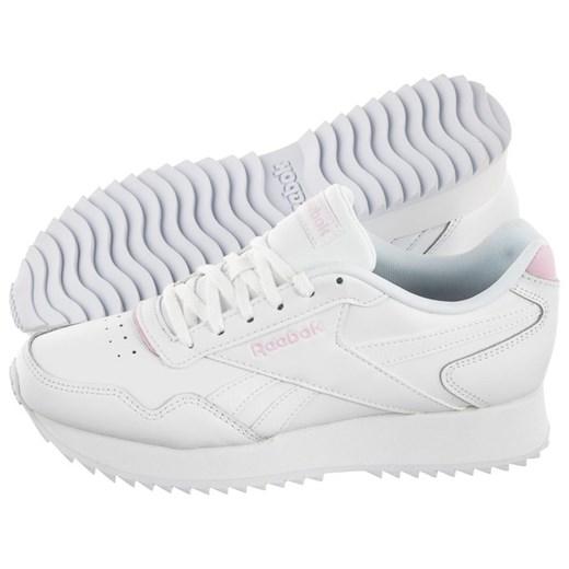 Buty sportowe damskie Reebok gładkie na wiosnę białe w Domodi