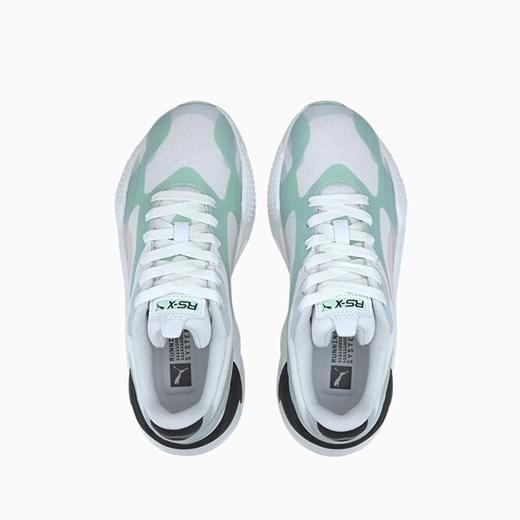 Sneakersy damskie Puma bez wzorów na wiosnę sznurowane w Domodi