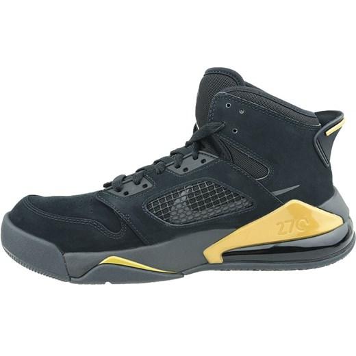 Wielokolorowe buty sportowe męskie Nike air jordan sznurowane
