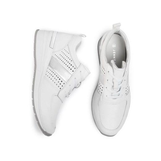 Buty sportowe damskie białe Jenny Fairy sznurowane w Domodi