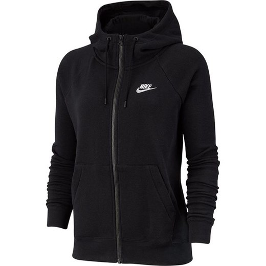 Bluza damska z kapturem Sporstwear Essential Full-Zip Fleece Nike (black) Nike  XS SPORT-SHOP.pl