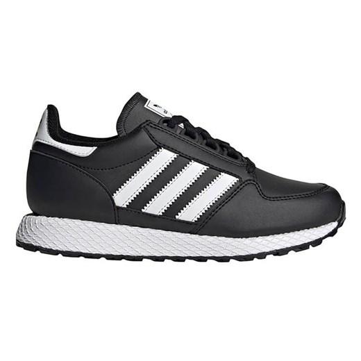 Adidas buty sportowe damskie ze skóry ekologicznej bez