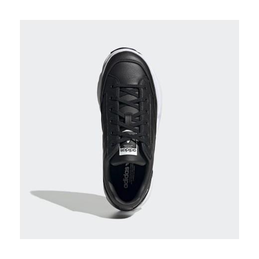 Buty sportowe damskie Adidas na platformie bez wzorów uEAPQ