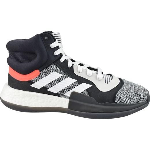 Buty sportowe męskie Adidas sznurowane na jesień z tkaniny w