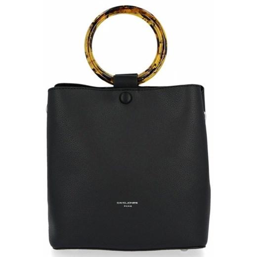 Shopper bag David Jones bez dodatków do ręki
