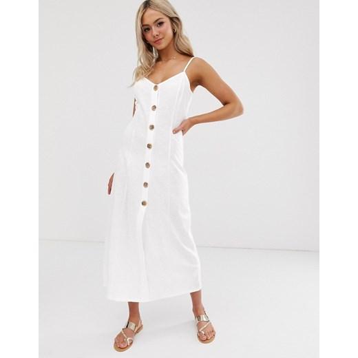 Sukienka Asos Design Odzież Damska UR biały WVWH