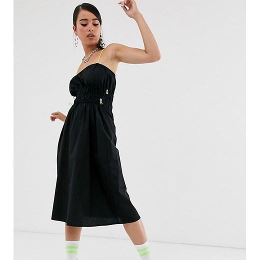 Sukienka Collusion Odzież Damska UT czarny QCDY