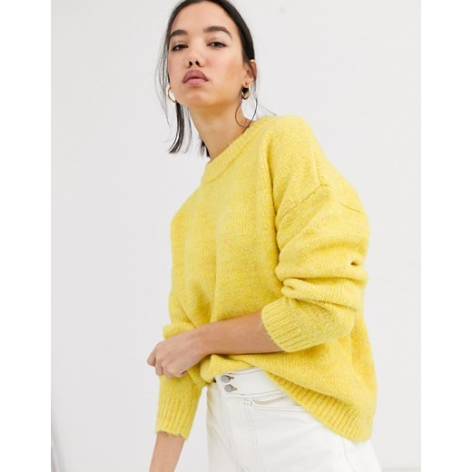 Sweter damski ONLY Odzież Damska QG żółty TPIM