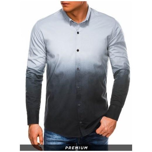 Koszula męska Ombre z długim rękawem w Domodi  hHqxI